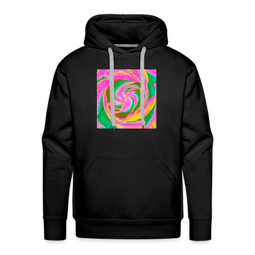 Psychedelic Rose - Men's Premium Hoodie