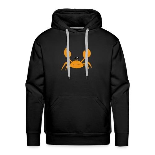crab - Felpa con cappuccio premium da uomo