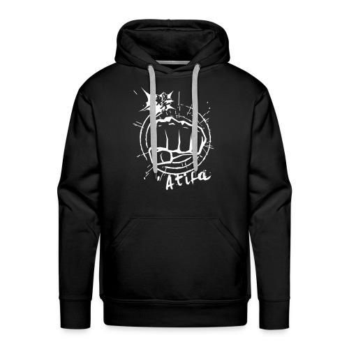 ATIFA - power punch! - Men's Premium Hoodie