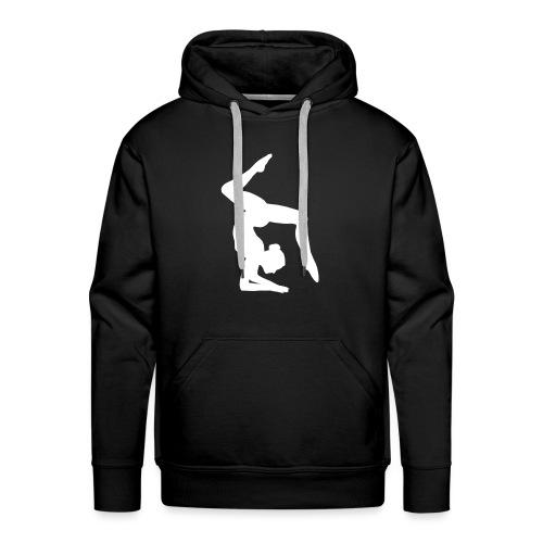 Acrogym-Single001White - Mannen Premium hoodie