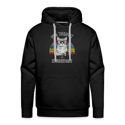 Vorschau: Therapeut Katze - Männer Premium Hoodie