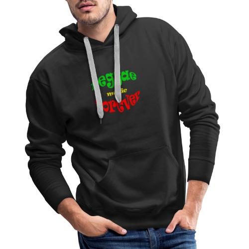 Reggae Music Forever - Mannen Premium hoodie