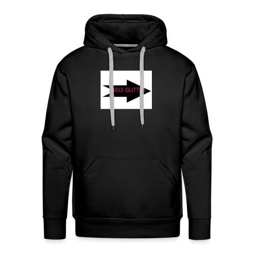 HOLLY GLITTER - Mannen Premium hoodie