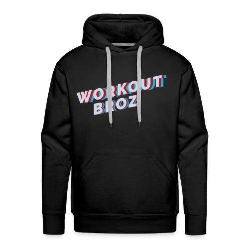 Official WorkoutBroz Logo - Men's Premium Hoodie