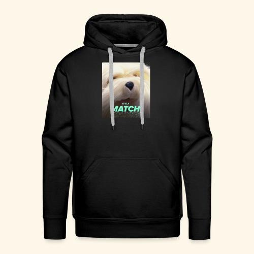 Tinder match - Mannen Premium hoodie