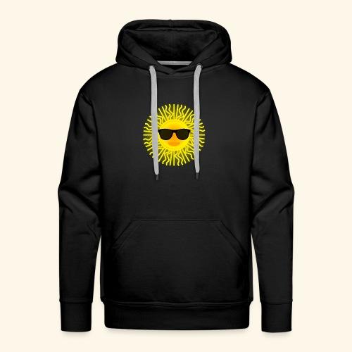 Sol de Canarias - Sudadera con capucha premium para hombre