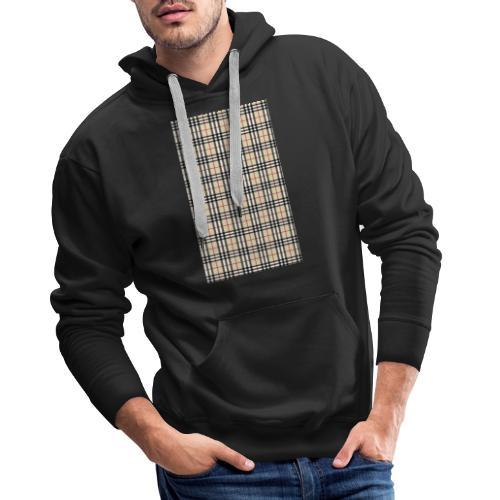 Ternet Designer - Herre Premium hættetrøje