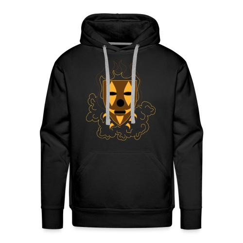Mask louis style png - Mannen Premium hoodie
