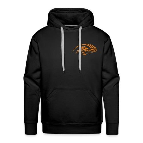 logo orange nu - Sweat-shirt à capuche Premium pour hommes