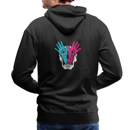 Feckers Logo - Sweat-shirt à capuche Premium pour hommes