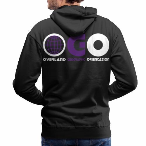 OGO-27 - Sweat-shirt à capuche Premium pour hommes