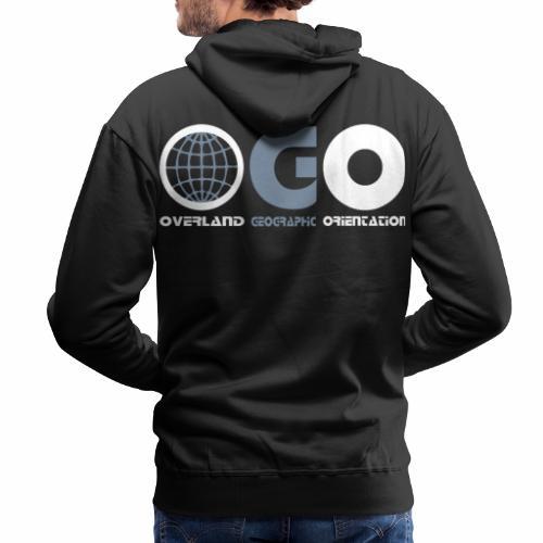 OGO-38 - Sweat-shirt à capuche Premium pour hommes