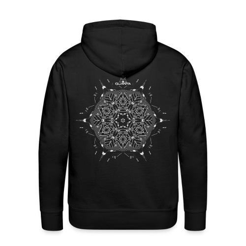 quanta music tshirt design last - Men's Premium Hoodie