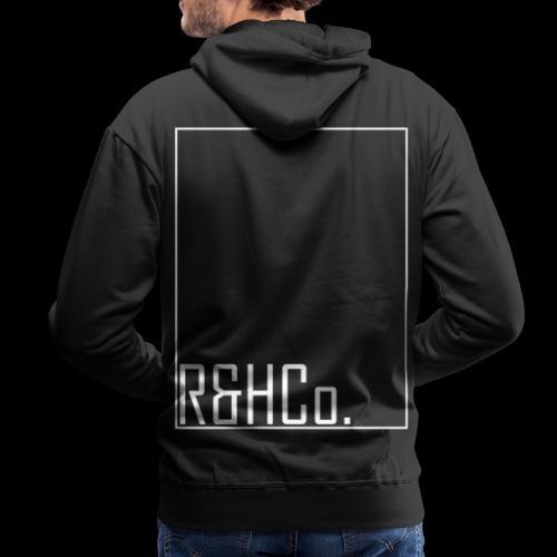 R&HCo. White Logo - Men's Premium Hoodie