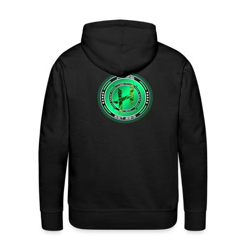 HaZe Nation Logo3 png - Männer Premium Hoodie