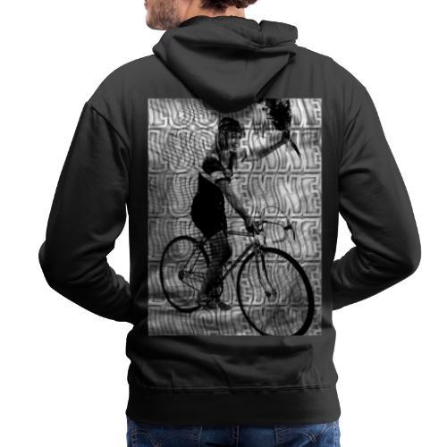 OMA FIETS DESIGN - Mannen Premium hoodie