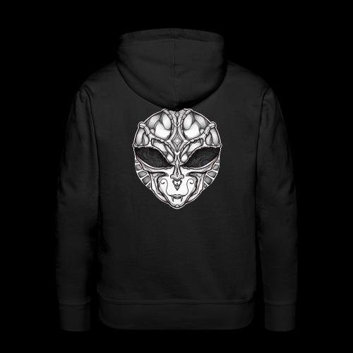 Dark Alien 23 - Sweat-shirt à capuche Premium pour hommes