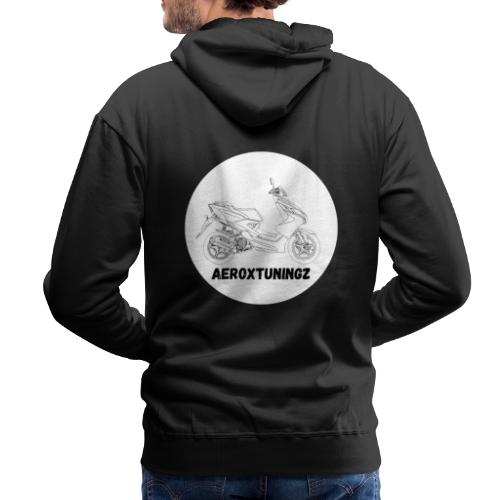 Aeroxtuningz logo - Mannen Premium hoodie
