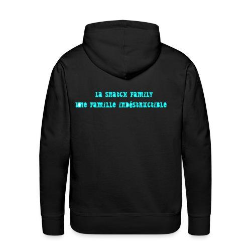 snatch family - Sweat-shirt à capuche Premium pour hommes