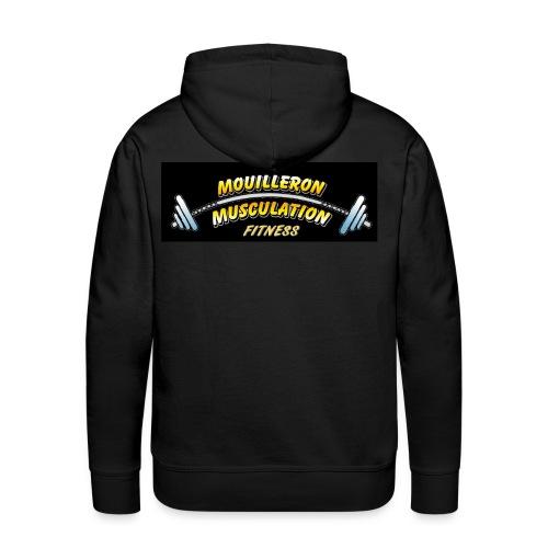 MMN - Sweat-shirt à capuche Premium pour hommes