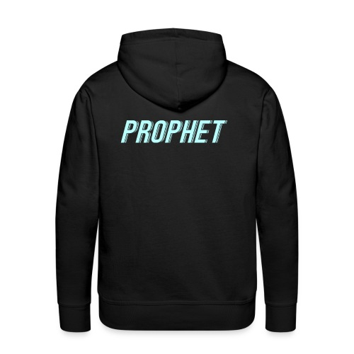 prophet_blue_scaled_smaller - Men's Premium Hoodie