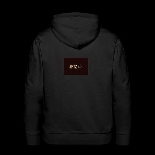 jetz logo - Sweat-shirt à capuche Premium pour hommes