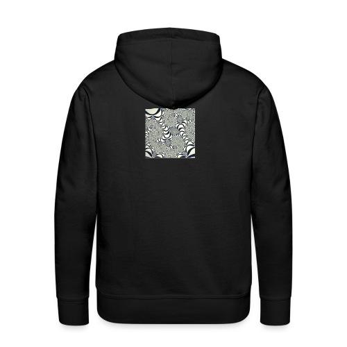 Optik Streetwear, 60er Design - Männer Premium Hoodie