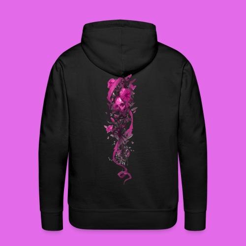 FlowerPower - Sweat-shirt à capuche Premium pour hommes