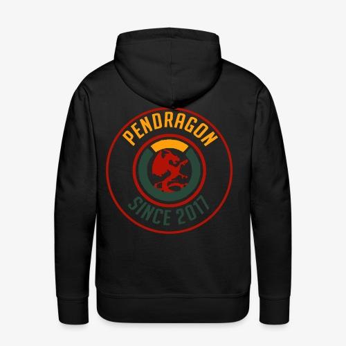 pendragon adaptable - Sweat-shirt à capuche Premium pour hommes