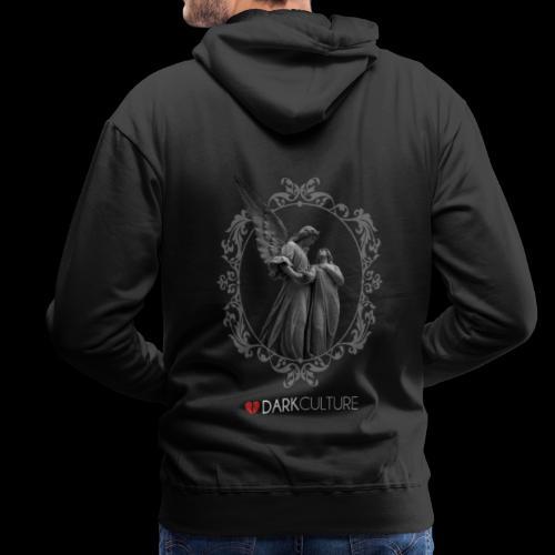 DarkCulture - Black Angel - Felpa con cappuccio premium da uomo