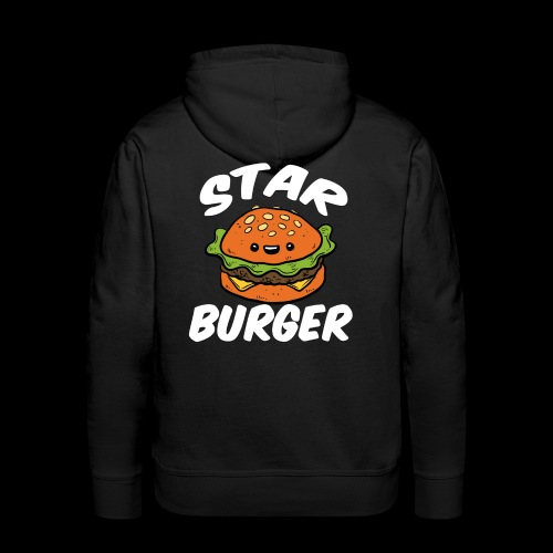 Star Burger Brand - Mannen Premium hoodie