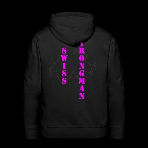 Swiss FSA T Shirt Swiss Strongman 1 - Männer Premium Hoodie