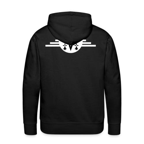 MT BZH - Sweat-shirt à capuche Premium pour hommes