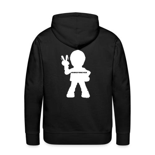 RideForEver - Sweat-shirt à capuche Premium pour hommes