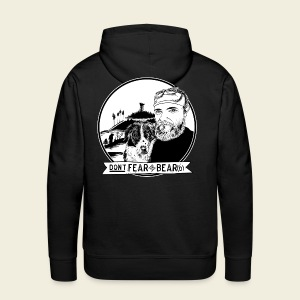 Don't fear the BEAR(d) - Männer Premium Hoodie