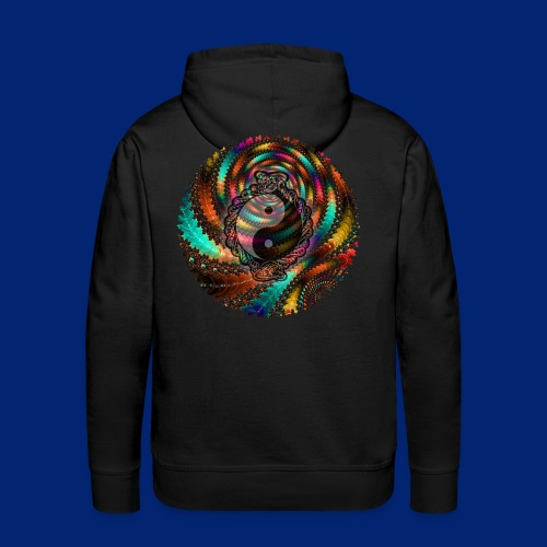 One More Fractal - Men's Premium Hoodie