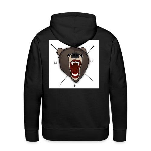 Bär - Männer Premium Hoodie