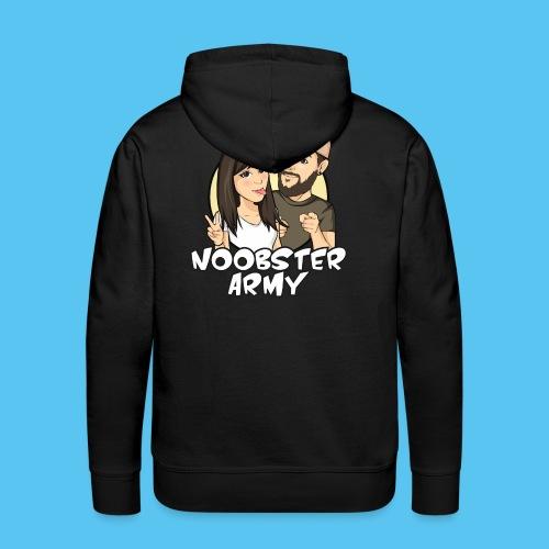 Noobsterarmy Couple - Männer Premium Hoodie