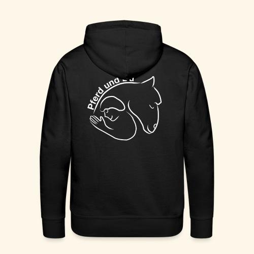 Pferd und Du - Männer Premium Hoodie