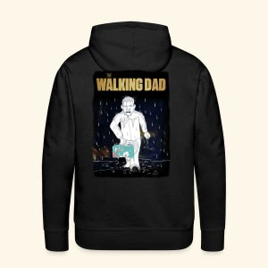 The Walking Dad - Homage - Männer Premium Hoodie