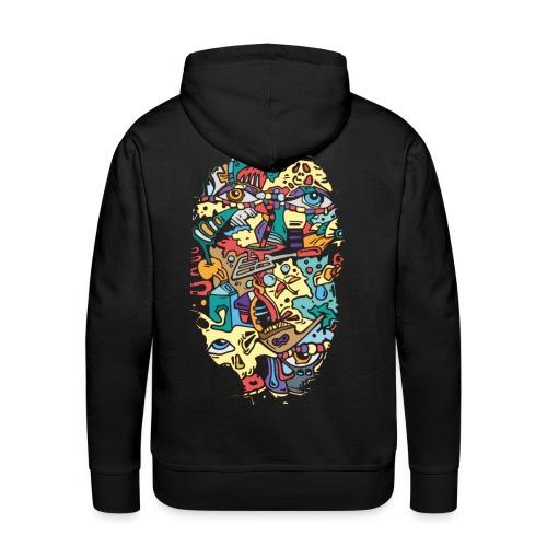 Colormashup - Männer Premium Hoodie