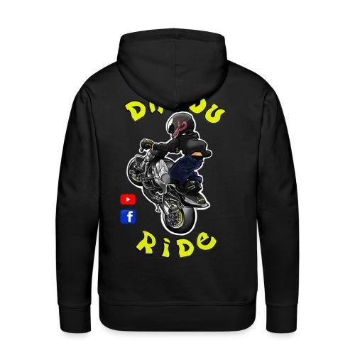 Dadou Ride - Sweat-shirt à capuche Premium pour hommes