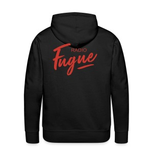 Radio Fugue Red - Sweat-shirt à capuche Premium pour hommes