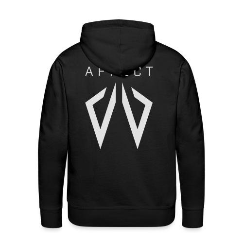 Affect Wear Logo white - Männer Premium Hoodie