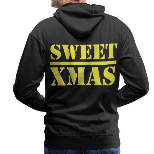 Sweet Xmas Luke Cage Doux Jesus - Sweat-shirt à capuche Premium pour hommes