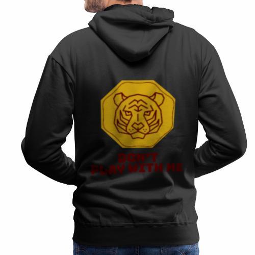 Don't play with me collection - Sweat-shirt à capuche Premium pour hommes