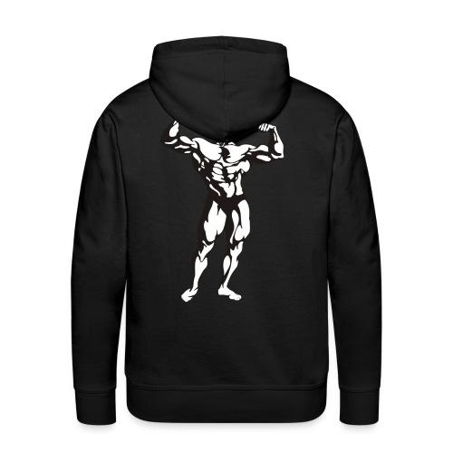 Oldschool Bodybuilding GOLIATHWEAR - Männer Premium Hoodie
