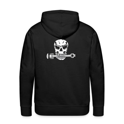 Weiß kolbenfresser - Männer Premium Hoodie