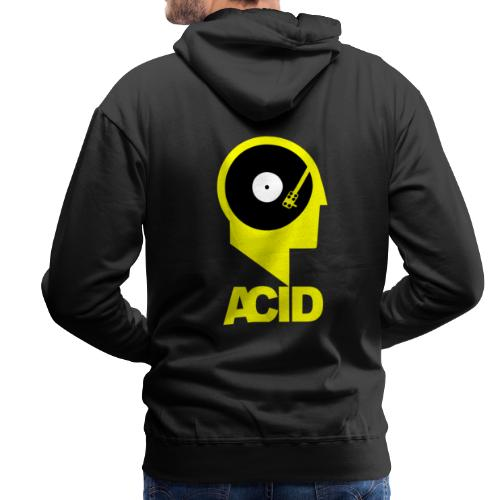 ACID IN MY HEAD - Bluza męska Premium z kapturem