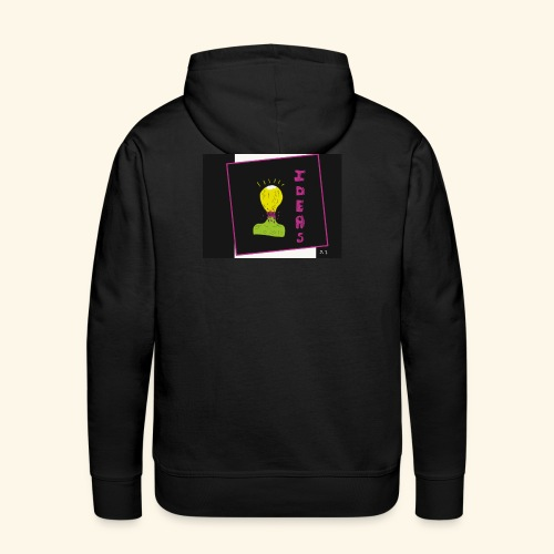 Ideas Pop - Sweat-shirt à capuche Premium pour hommes